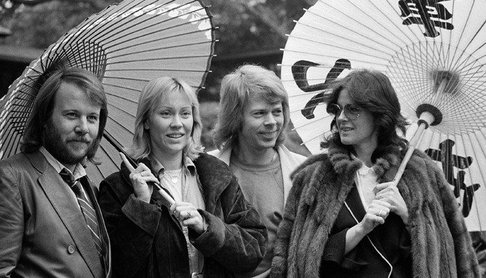 ABBA was inducted into the Rock & Roll Hall of Fame in 2010. It's sold more than 10 million albums in the U.S. (Source: Tsugufumi Matsumoto/AP)