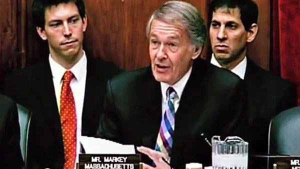 Rep. Edward Markey, D-MA, addresses the Joint Hearing on Internet Privacy on July 14, 2011. Markey is co-chair of the Bi-Partisan Congressional Privacy Caucus. (Source: Congressman Ed Markey/YouTube)