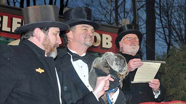 Punxsutawney Phil predicts whether or not we'll have six more weeks of winter each Feb. 2, but how accurate is he? (Source: Punxsutawney Area Chamber of Commerce)