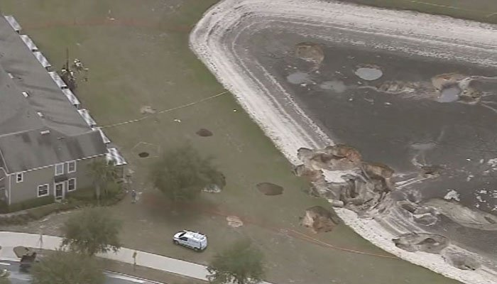 Additional sinkholes open in Ocala