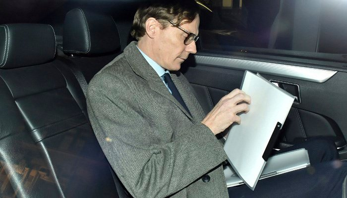 Cambridge Analytica CEO Alexander Nix left the company last month after an undercover video sting. (Source: Dominic Lipinski/PA via AP)