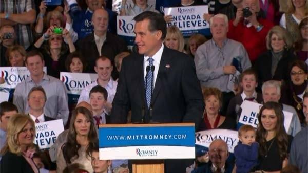 Mitt Romney told his supporters that he would be the one to fix the economy. (Source: CNN)