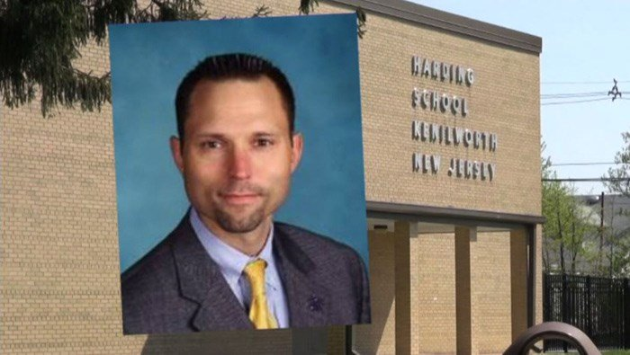 Staff at Holmdel High School had been finding poop daily around their track and football field. The suspect is the superintendent of a neighboring school district. (Source: WPIX, Kenilworth School District, CNN)