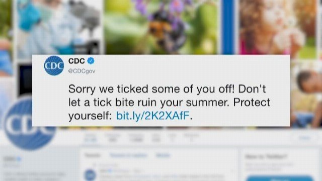 CDC Campaign Warning Of Tick Bites Trigger Social Media Frenzy