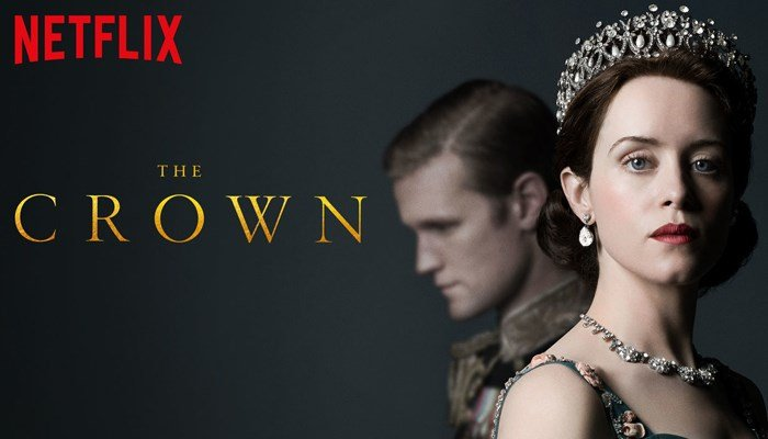 The Crown was named best drama series at the 2017 Golden Globes. (Source: Netflix)