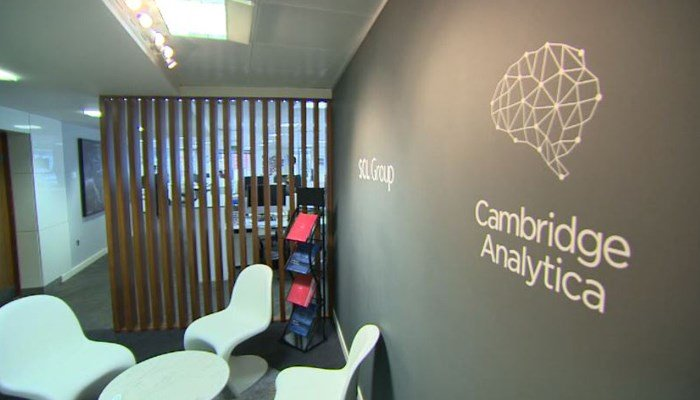 Cambridge Analytica did work for President Trump's 2016 campaign. (Source: CNN)
