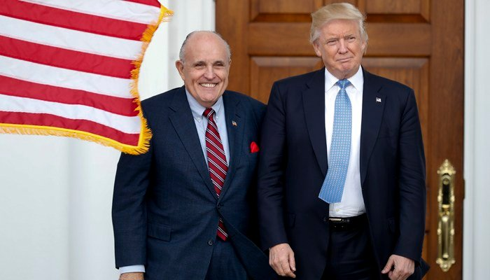 Rudy Giuliani recently joined President Trump's legal team. (Source: AP Photo/Carolyn Kaster)