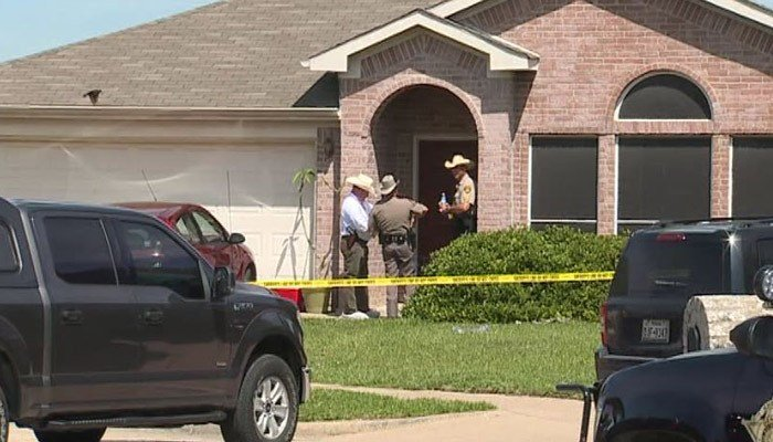 Investigators said a man opened fire, killing three children and his ex-wife's new boyfriend before turning the gun on himself. (Source: KDAF/CNN)