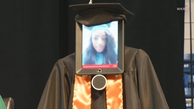 Shortly before graduation, LeFlore High School senior Cynthia Pettway was hospitalized, so the school and the hospital teamed up and came up with a unique solution. (Source: WKRG/CNN)