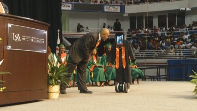 Graduating was very important to Pettway, who attended night classes to earn her diploma. (Source: WKRG/CNN)