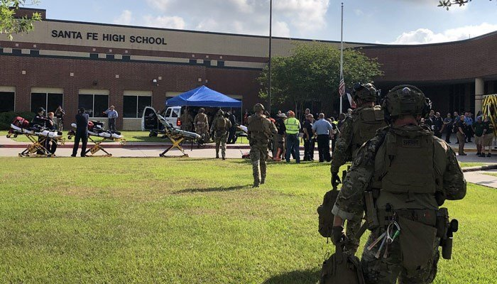 Multiple deaths have been reported from a shooting at Santa Fe High School. (Source: Harris County Sheriff's Office/Twitter)