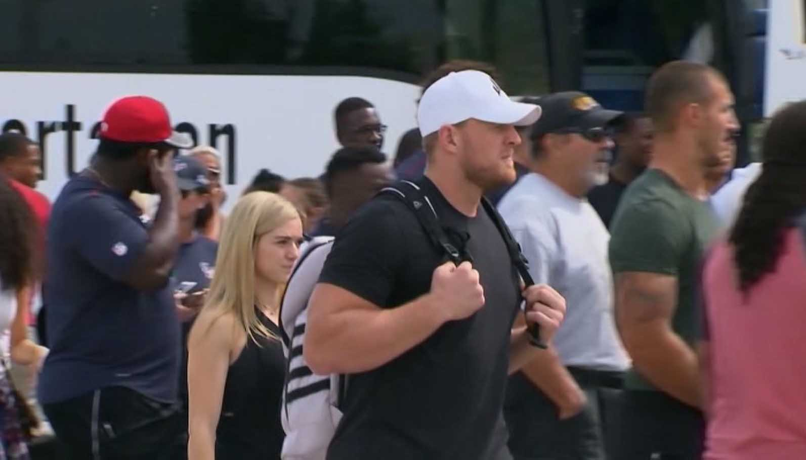 The Houston Texans confirmed J.J. Watt will pay for the funerals of the 10 people killed Friday. (Source: CNN)