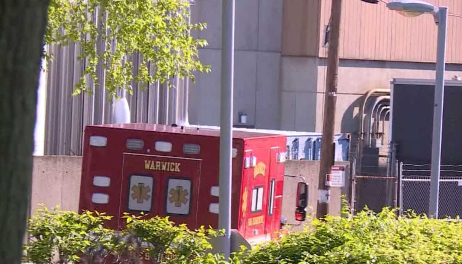 A Rhode Island man is accused of stealing an unattended ambulance. (Source: WPRI/CNN)