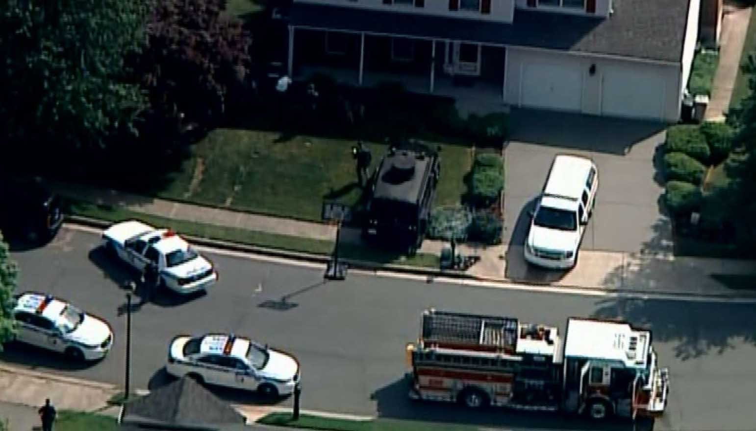 A Baltimore County police officer was fatally shot Monday afternoon during a traffic stop. (Source: WJZ/CNN)