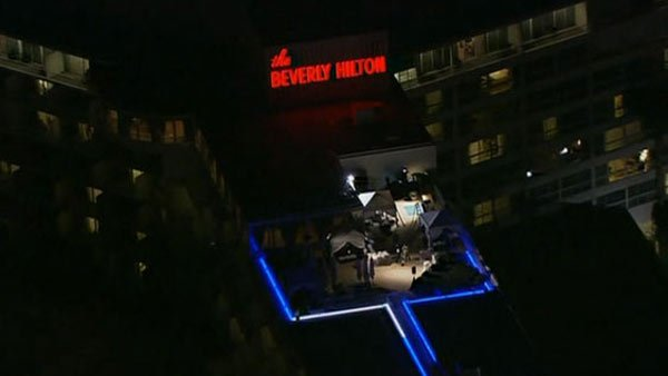 Houston was staying at the Beverly Hilton Hotel when she died Feb. 11. (Source: CNN)