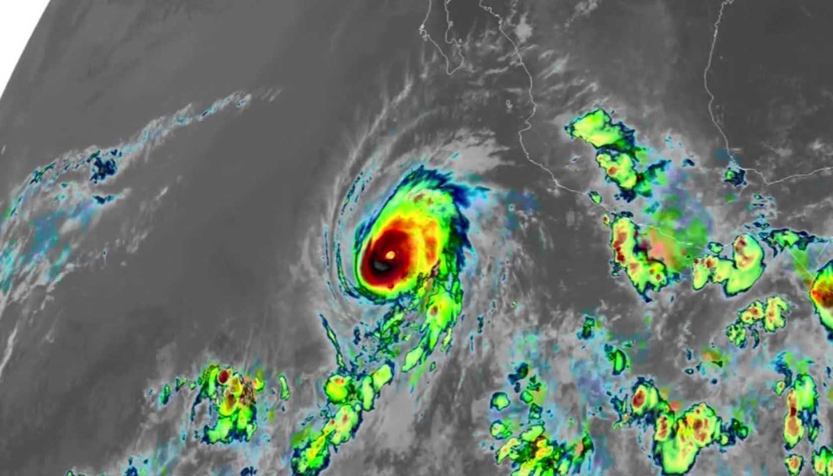 Aletta could become a Category 4 hurricane Friday. (Source: CNN/NOAA/CIRA/RAMMB)