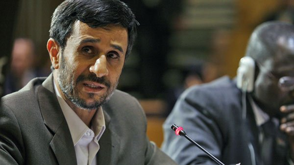 Iranian President Mahmoud Ahmadinejad claims Western countries are hoarding nuclear technology for themselves. (Source: United Nations)
