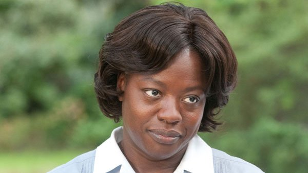 'Help' lead Viola Davis is predicted to emerge triumphant on Oscar night as the year's best actress. Davis plays a civil rights-era maid in the Tate Taylor-directed film. (Source: Dreamworks Pictures)