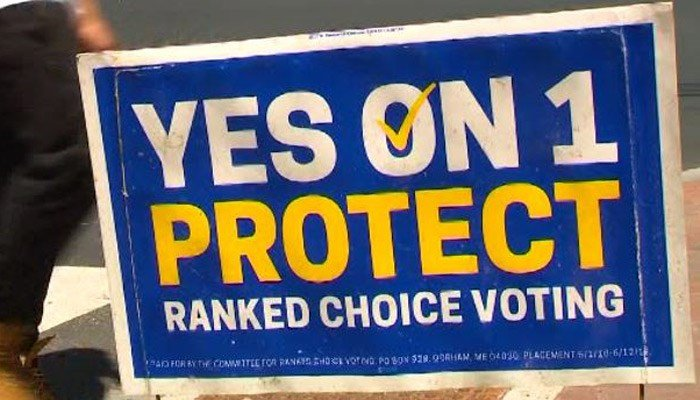 The state will use the so-called ranked-choice voting for the first time in four races, including both parties' gubernatorial primaries. (Source: WMTW/CNN)