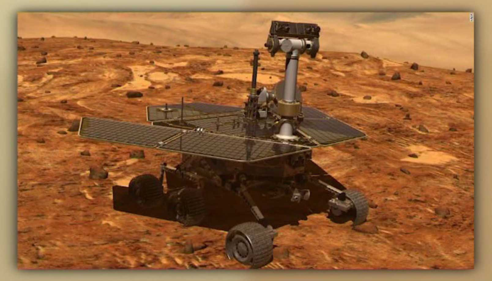 NASA's Opportunity rover is facing some setbacks due to a huge dust storm. (Source: CNN/NASA/NASA/JPL-Caltech/TAMU)