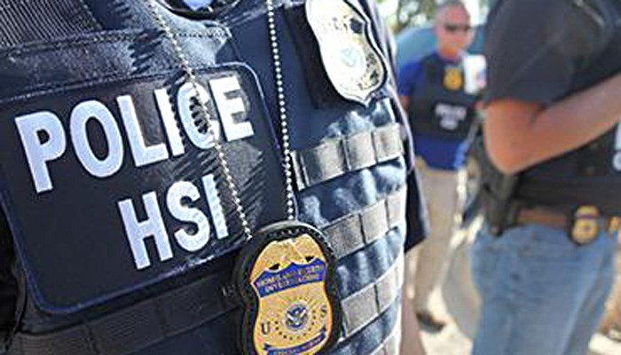 An agent with Homeland Security Investigations said the migrants came from Mexico, Guatemala, El Salvador and Brazil. (Source: HSI)