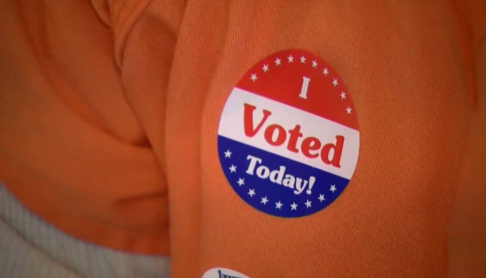 Inmates took part in their civic responsibility by voting from inside a jail in Washington, D.C. (Source: WJLA via CNN)