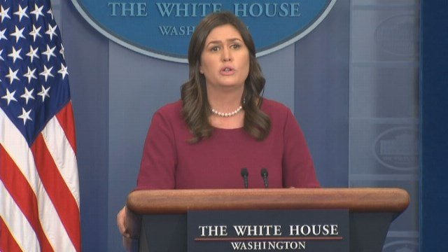 White House Press Secretary Confronted over Family Separations