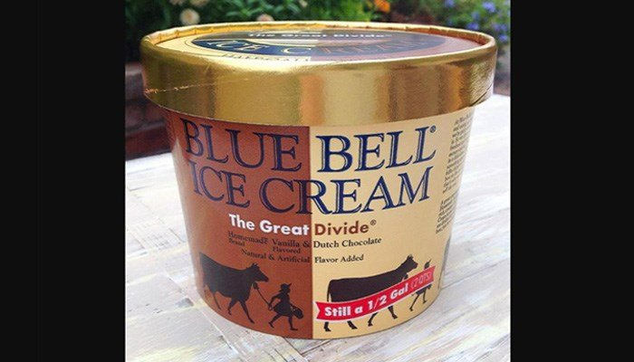"A spokeswoman said the company was ""amazed"" and ""impressed"" by the thoughtfulness of the idea. (Source: Blue Bell)"