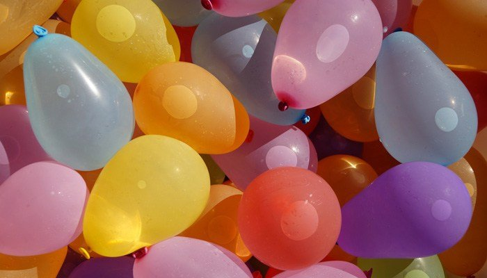The group says water balloons shot from slingshots can cause eye injuries. (Source: Pixabay)