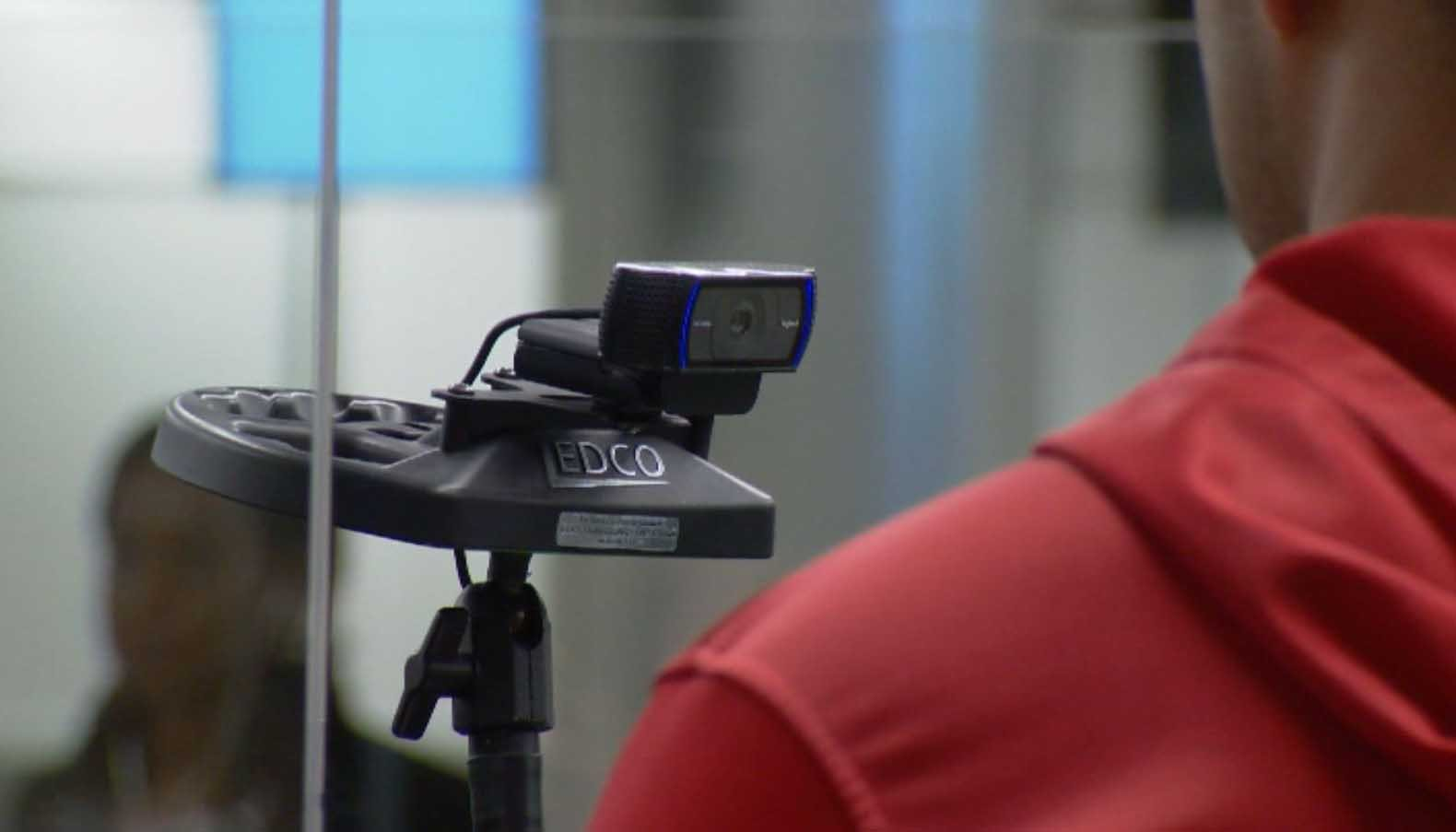 Orlando International Airport has become the first airport in the country to use facial recognition technology to process international travelers. (Source: WESH via CNN)