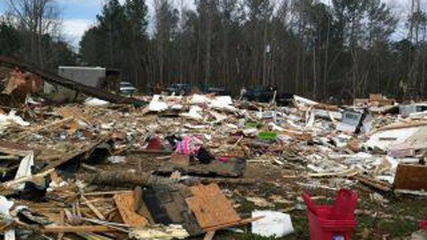 A viewer-submitted photo of the Eagle Creek area in Alabama. (Source: WSFA)