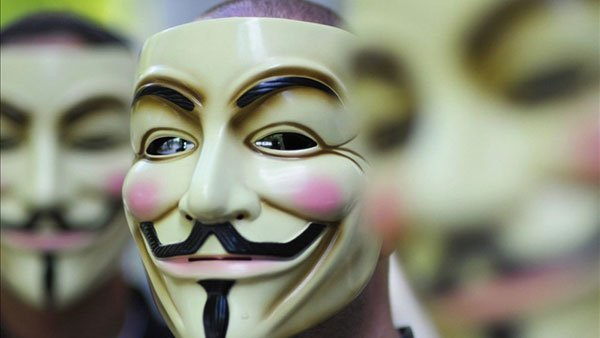 Anonymous has claimed responsibility for attacking the websites of the FBI, Department of Justice, Bank of America, and the MPAA. (Courtesy John Cook)