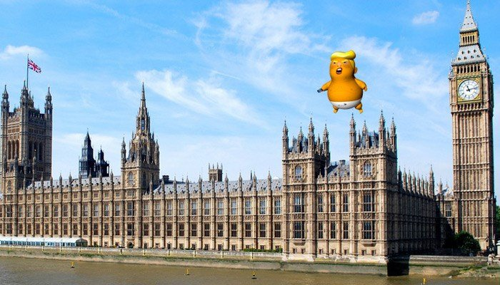 London's mayor gave his approval after more than 10,000 people signed an online petition supporting the balloon. (Source: Crowdfunder/Trump Baby)