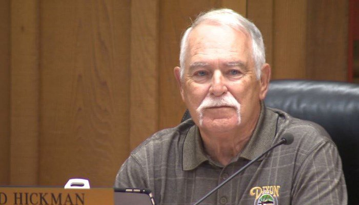 Ted Hickman is the vice mayor of Dixon, CA, south of Sacramento. (Source: KCRA/CNN)