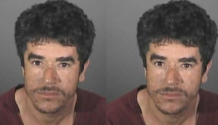 A manhunt is underway in California for Alejandro Alvarez, 32, who is considered armed and dangerous. His wife's condition is unknown. (Source: KCAL/CNN)
