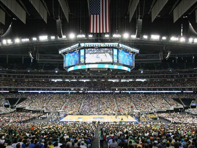 "Photo of the 2011 Final Four in Houston. Saturday kicks off the third round of action in ""The Road to the Final Four."" Or second round. It depends on who you ask. (KIAH/handout photo)"