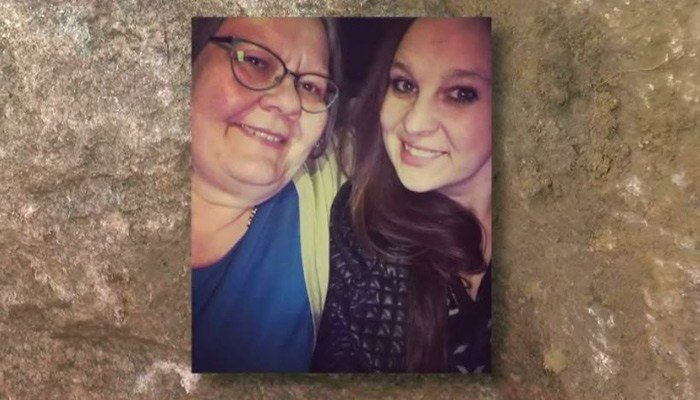 Huge boulder falls out of dump truck, kills mom and daughter