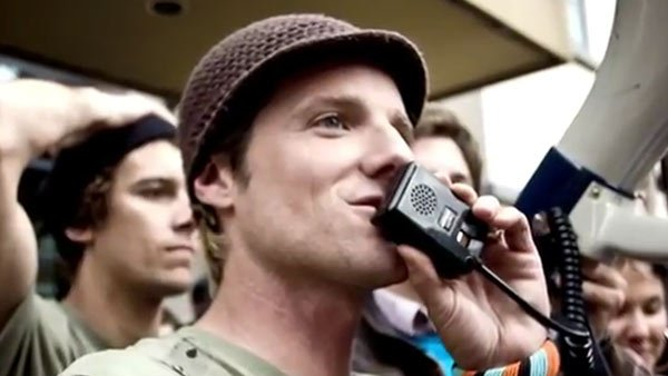 'KONY 2012' creator and filmmaker Jason Russell was detained by police and  hospitalized Thursday. (Source: Invisible Children/YouTube)