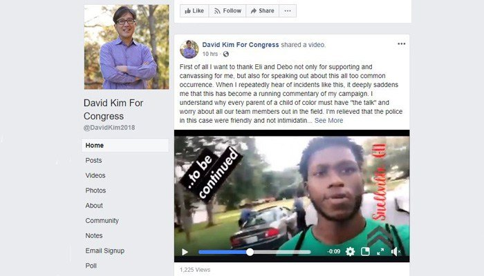 David Kim is running for Congress in Georgia's 7th district. (Source: Facebook/David Kim)