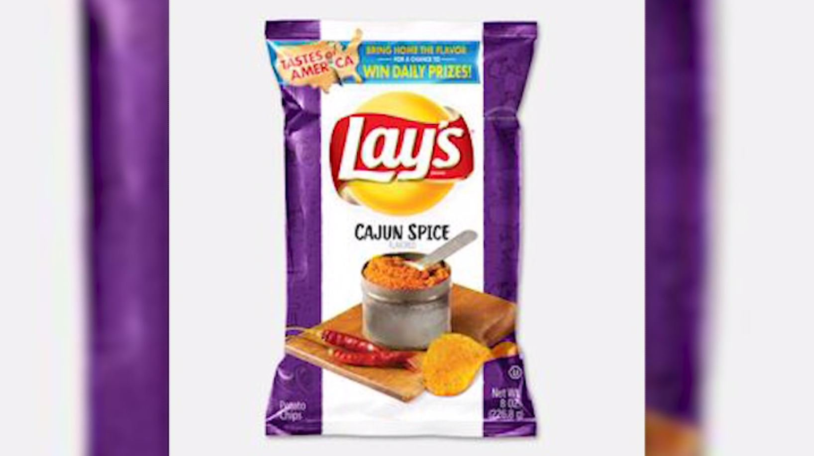The flavors will be in grocery stores from July 30 through September 23. (Source: Lay's via CNN)
