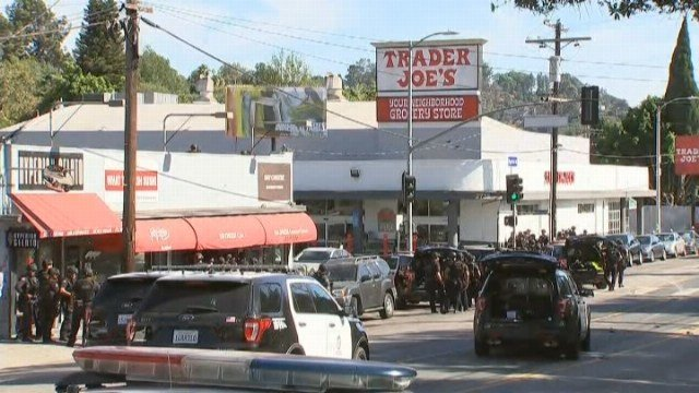 Shooting Suspect At Los Angeles Trader Joe's Shot Grandmother And Girlfriend