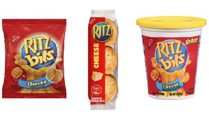 Some Ritz cracker products, including the ones shown, have been recalled out of concern from a whey supplier. (Source: WTXL)