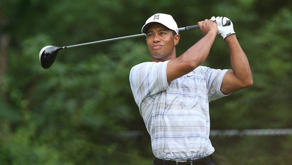 It looked like Tiger Woods' game was back on track after a recent tournament win. (Source: Keith Allison/Wikimedia Commons)