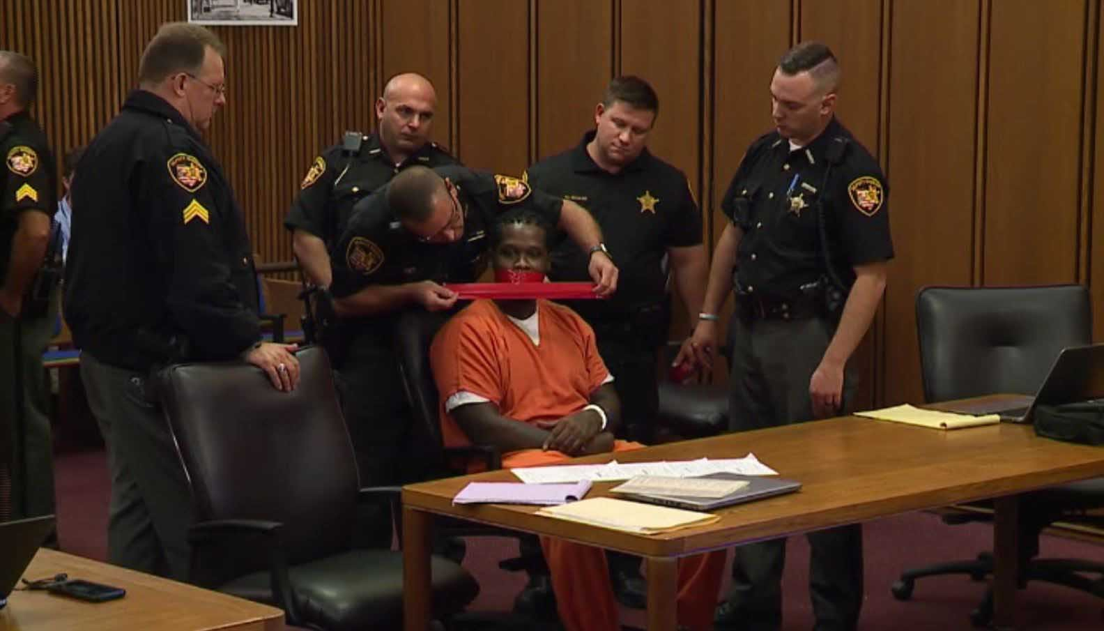 'Shut Your Mouth': Judge Orders Convicted Robber's Mouth Taped Shut During Sentencing