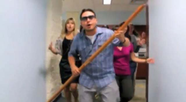 A video has surfaced where a Government Service employee makes fun of misusing funds. (Source: Oversight.House.Gov/YouTube)