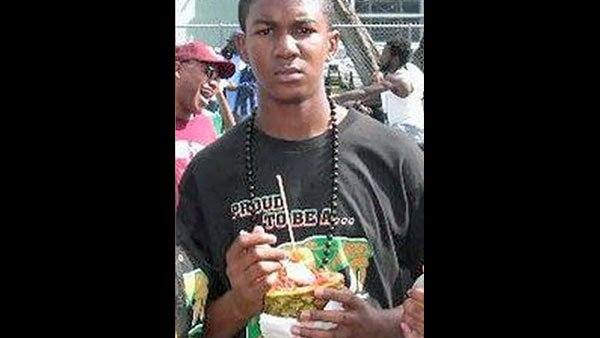 Trayvon Martin, 17, was killed by a single gun shot wound to the chest by neighborhood watch captain George Zimmerman, 28. (Source: Jerome Horton/CNN)