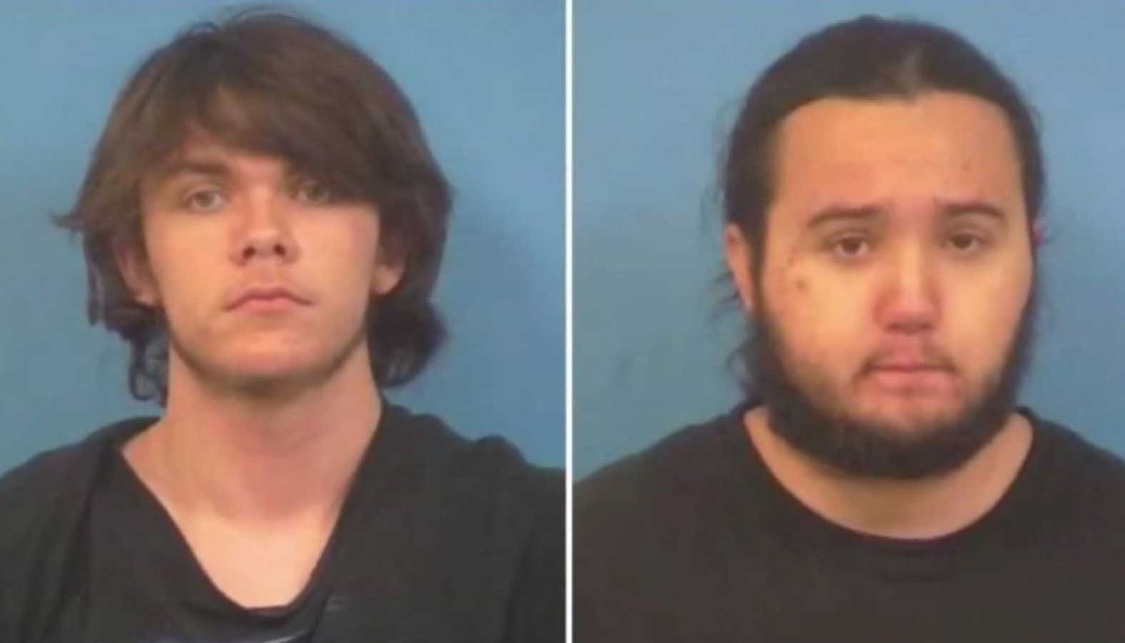 Police said the two 17-year-olds told them that they beat and stabbed their mother to death because they were sick of her parenting. (Source: KVVU/Nye County Sheriff's Office via CNN)