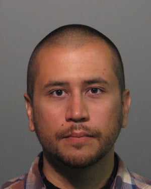 Zimmerman's mug shot. He was booked into a Seminole County, FL jail Wednesday night. (Source: Seminole County Sheriff)