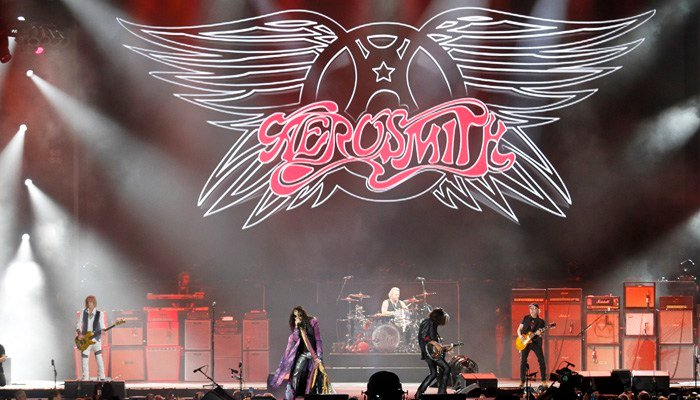 Aerosmith entered the Rock and Roll Hall of Fame in 2001. (Source: AP Photo/Tom E. Puskar)