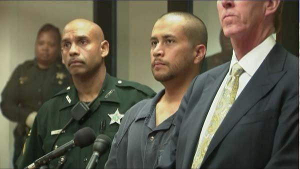 George Zimmerman appeared for his initial hearing Thursday in Seminole County, FL. (Source: CNN)